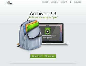 archiverapp.com screenshot