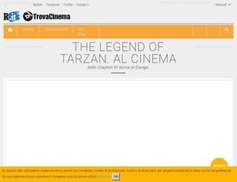 trovacinema.repubblica.it screenshot