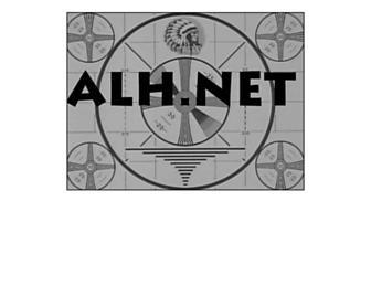 Main page screenshot of alh.net