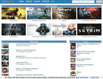 eliteguias.com screenshot