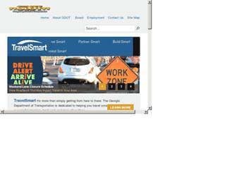 dot.ga.gov screenshot