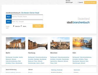 Thumbshot of Stadtbranchenbuch.com