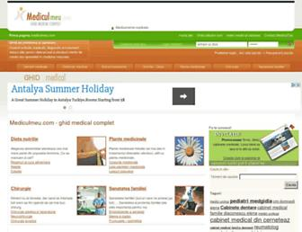 mediculmeu.com screenshot