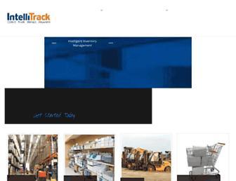 Main page screenshot of intellitrack.net