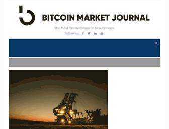 bitcoinmarketjournal.com screenshot