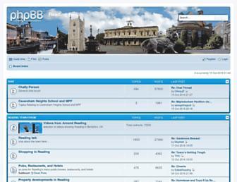 reading-forum.co.uk screenshot