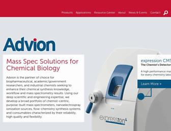 advion.com screenshot