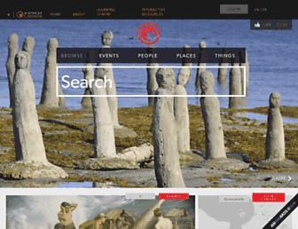 thecanadianencyclopedia.ca screenshot