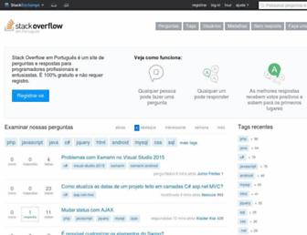 pt.stackoverflow.com screenshot