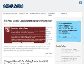 ari-f.com screenshot