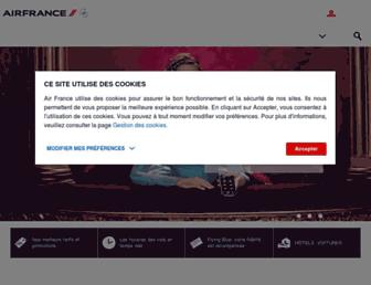 airfrance.dz screenshot
