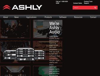 ashly.com screenshot