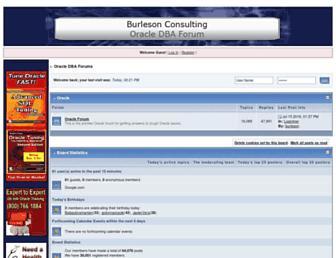 dbaforums.org screenshot