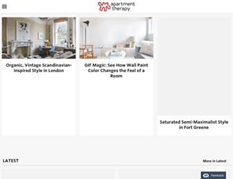 apartmenttherapy.com screenshot