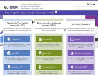 agepi.gov.md screenshot