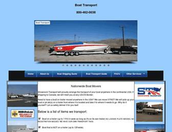 boatmovers.com screenshot