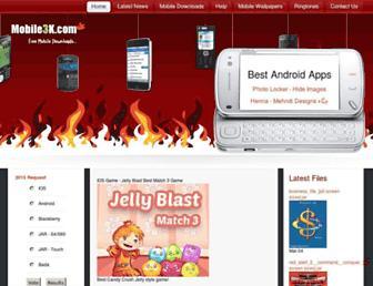 mobile3k.net screenshot