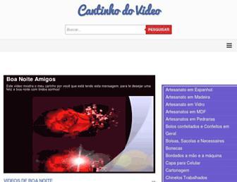 cantinhodovideo.com screenshot