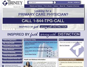 trinityhealth.com screenshot