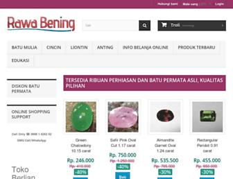 rawa-bening.com screenshot