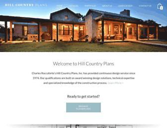 hillcountryplans.com screenshot