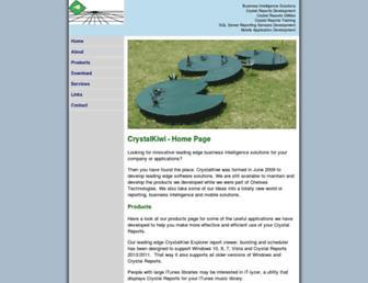 crystalkiwi.com screenshot
