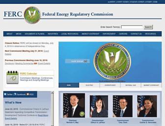Thumbshot of Ferc.gov
