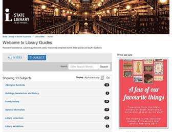 guides.slsa.sa.gov.au screenshot