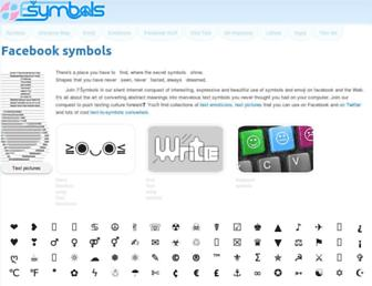 fsymbols.com screenshot