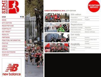 Thumbshot of Semi-marathonbb.fr