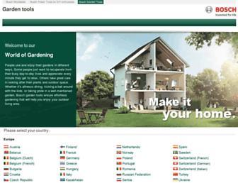 Thumbshot of Bosch-garden.com