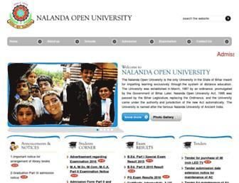 nalandaopenuniversity.com screenshot