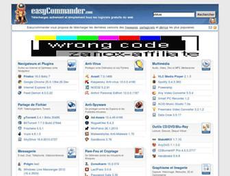 easycommander.com screenshot