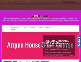 arqumhouse.edu.pk screenshot