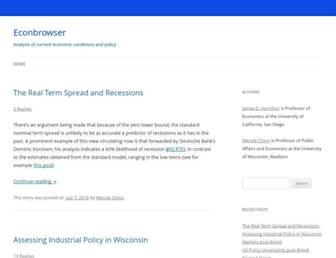 Thumbshot of Econbrowser.com