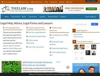 Thumbshot of Thelaw.com