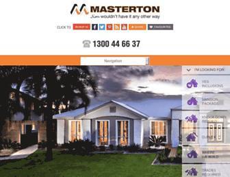masterton.com.au screenshot