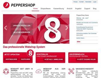 peppershop.com screenshot