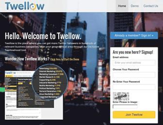 Thumbshot of Twellow.com