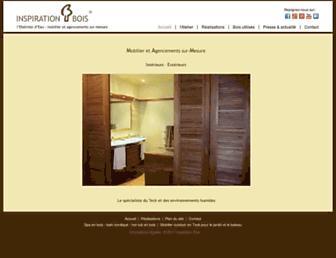 inspirationbois.com screenshot