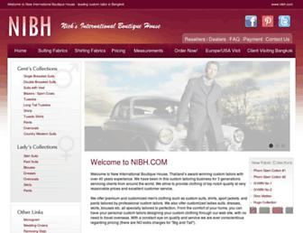nibh.com screenshot