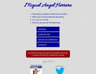 miguelangelherrera.com screenshot