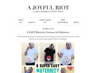 ajoyfulriot.com screenshot