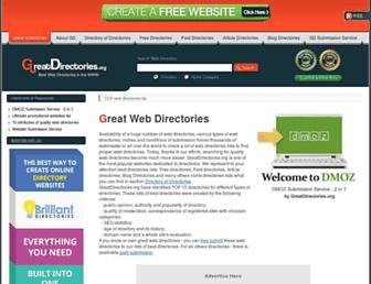 Thumbshot of Greatdirectories.org