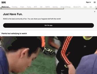 m.9gag.com screenshot