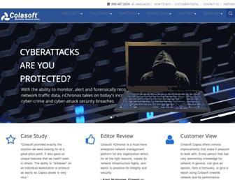 colasoft.com screenshot