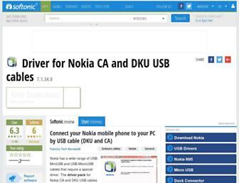 driver-for-nokia-ca-dku.en.softonic.com screenshot