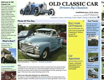 oldclassiccar.co.uk screenshot