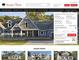builderhouseplans.com screenshot
