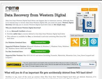 westerndigitalrecovery.net screenshot